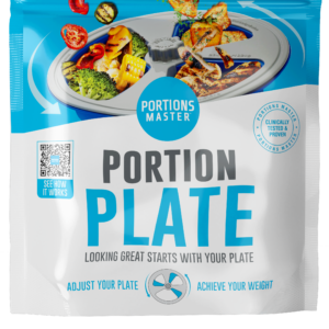 Portion Plate Front